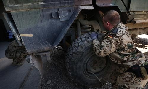 Đức, Hà Lan dừng huấn luyện quân sự ở Iraq - ảnh 1