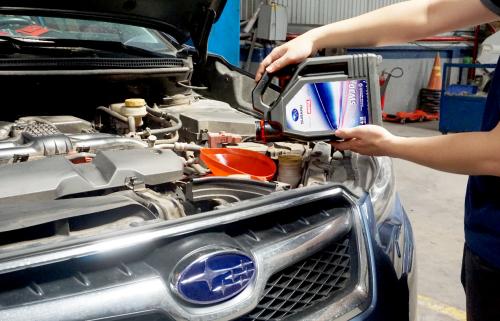 Motul và Subaru là đối tác chiến lược tại nhiều quốc gia.