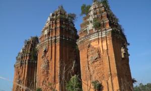 Tháp Chăm cổ cao nhất Việt Nam ở Bình Định