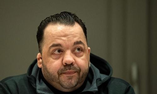 Niels Hoegel trong phiên tòa tháng 11/2018 ở Oldenburg, tây bắc nước Đức. Ảnh: AFP.