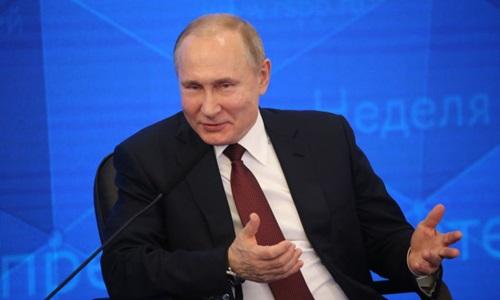Tổng thống Nga Vladimir Putin. Ảnh: Sputnik.