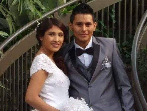 Ảnh cưới của nạn nhân Marlen Ochoa-Uriostegui, và chồng côYiovanni Lopez. Ảnh: Facebook.