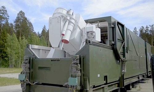 Tổ hợp vũ khí laser Peresvet của Nga. Ảnh: Sputnik.