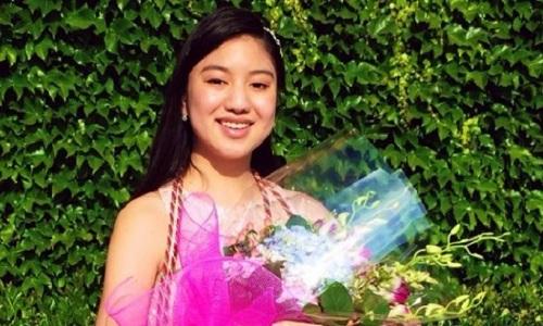Kassidy Vo vừa trở thành dược sĩ trẻ nhất bang California, Mỹ. Ảnh: FacebookKassidy Vo