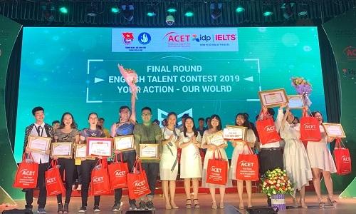 Học viện Tài chính và THPT Thường Tín giành giải nhất cuộc thi tiếng Anh - ảnh 1