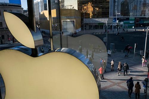 Một cửa hàng Apple ở Bắc Kinh. Ảnh: NYTimes.