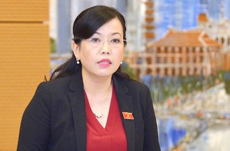 Trưởng Ban Dân nguyện Nguyễn Thanh Hải đọc báo cáokết quả giám sát việc giải quyết, trả lời kiến nghịcủa cử tri gửi đến kỳ họp thứ 6 sáng 20/5. Ảnh: Trung tâm báo chí Quốc hội