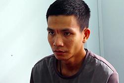 Nguyễn Hoài Nam tại cơ quan công an. Ảnh: An Bình