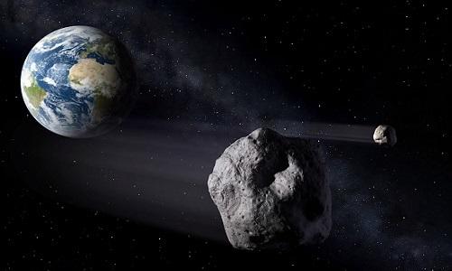 Thiên thạch rộng 1.600 m sắp bay sượt qua Trái Đất -