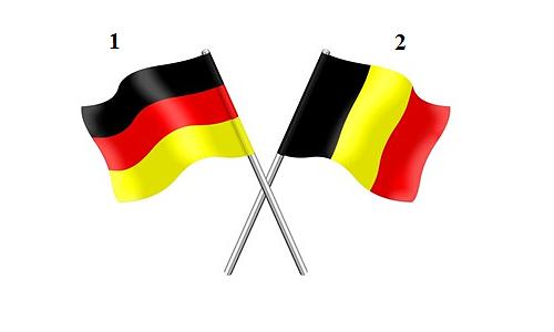 Phân biệt những cặp quốc kỳ gần giống nhau -