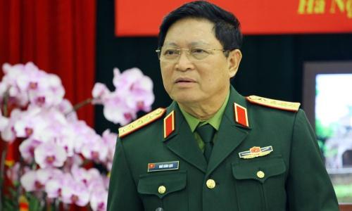 Bộ trưởng Quốc phòng Việt Nam Ngô Xuân Lịch. Ảnh: VOV.