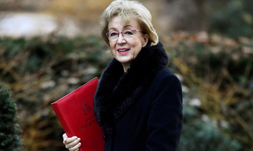 Chủ tịch Hạ viện Anh Andrea Leadsom. Ảnh: Reuters.