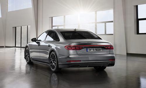 A8 là sedan đầu bàng của Audi hiện tại. Ảnh: Carscoops