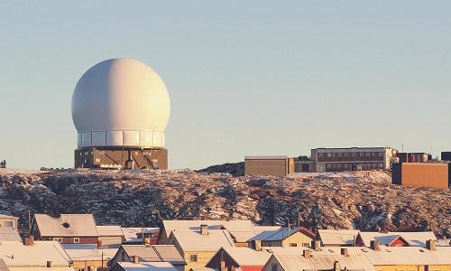 Trạm radar Globus 2 ở Na Uy. Ảnh:Forsvaret.