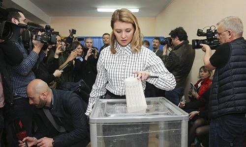 Tân đệ nhất phu nhân trẻ nhất trong lịch sử của Ukraine - ảnh 3