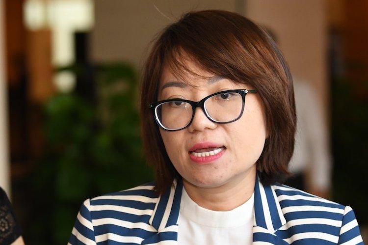 Đại biểu Phạm Thị Minh Hiền. Ảnh: Võ Hải
