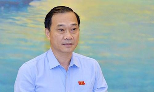 Chủ nhiệm Uỷ ban Kinh tế Vũ Hồng Thanh. Ảnh: Trung tâm báo chí Quốc hội.
