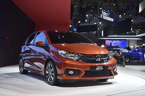 Honda Brio xuất hiện tại triển lãm ôtô Việt Nam 2018. Ảnh: Honda