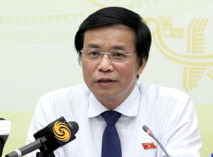 Tổng thư ký Quốc hội Nguyễn Hạnh Phúc. Ảnh: HT