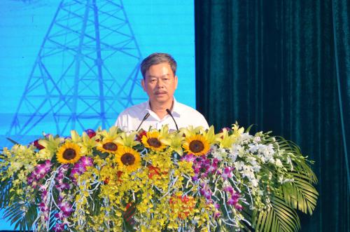 Ông Lê Quang Thái - Phó Tổng giám đốc EVNNPC cam kết, khách hàng tham gia chương trình DR sẽ được tạo điều kiện tối đa.