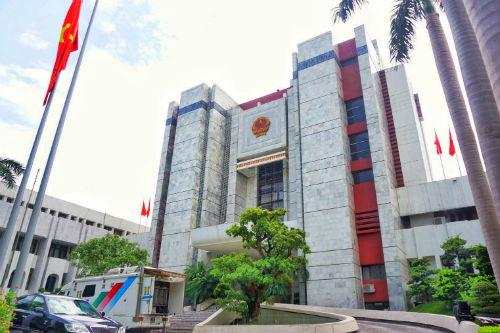 Trụ sở UBND TP Hà Nội. Ảnh: Giang Huy.