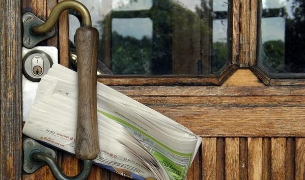 Báo tại khu chung cư đã được kẹp tại cổng nhưng thường xuyên mất tích.
