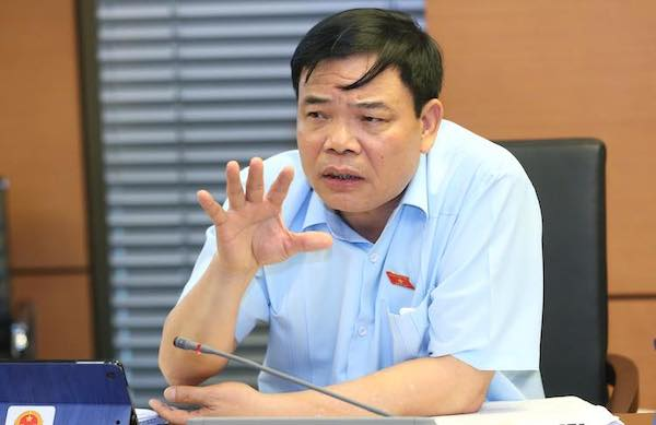 Bộ trưởng Nguyễn Xuân Cường. Ảnh: Võ Hải