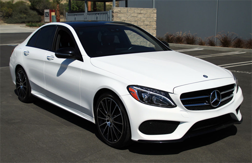 Mercedes C-class là quán quân trong danh sách.