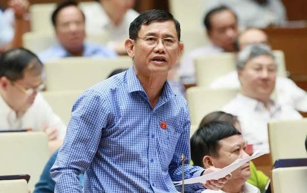 Đại biểu Nguyễn Ngọc Phương. Ảnh: Trung tâm báo chí Quốc hội.