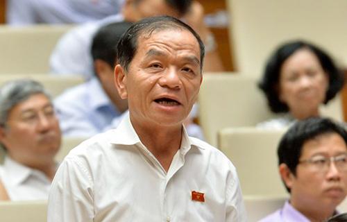 Đại biểu Lê Thanh Vân. Ảnh: Trung tâm báo chí Quốc hội.