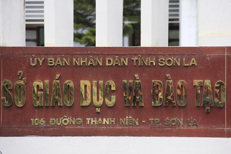 Sở Giáo dục và Đào tạo Sơn La. Ảnh: Dương Tâm.