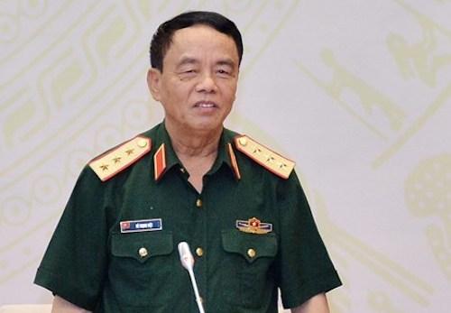 Thượng tướng Võ Trọng Việt, Chủ nhiệm Uỷ ban Quốc phòng An ninh. Ảnh: Trung tâm báo chí Quốc hội