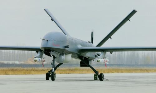 UAV CH-4B được Trung Quốc thử nghiệm năm 2013. Ảnh: Sina.