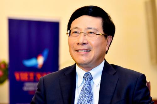 Phó thủ tướng Việt Nam Phạm Bình Minh. Ảnh: Hà Trung.