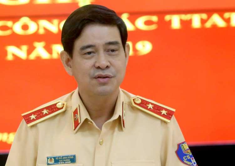 Trung tướng Vũ Đỗ Anh Dũng, Cục trưởng Cục CSGT.Ảnh: Bá Đô