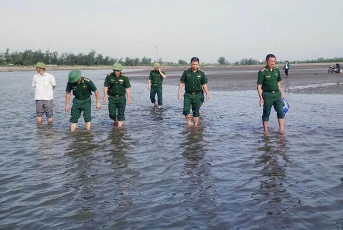 Tìm thấy thi thể bé trai gặp nạn khi tắm biển ở Nghệ An - ảnh 1