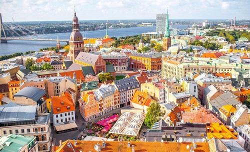 Một góc Riga - thủ đô của Latvia. Ảnh: Nordic Jobs Worldwide