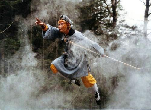 Hình ảnh Tôn Ngộ Không thần thông quảng đại tinh thông 72 phép thuật...