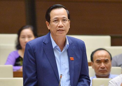 Bộ trưởng Lao động Thương binh Xã hội Đào Ngọc Dung. Ảnh: Ngọc Thắng