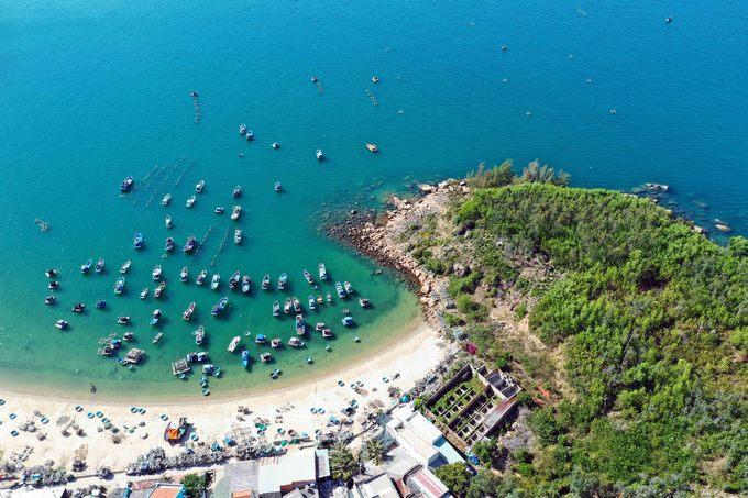 Vẻ đẹp hoang sơ của làng chài Bãi Xếp ở Quy Nhơn
