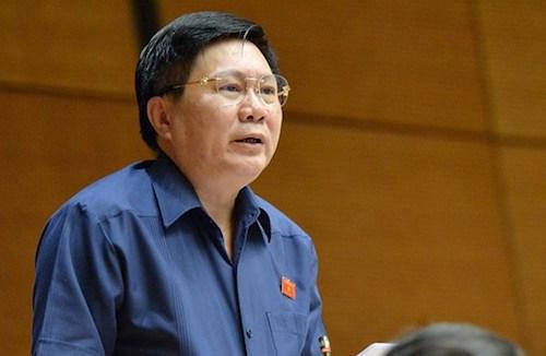Đại biểu Cao Đình Thưởng. Ảnh: Trung tâm báo chí Quốc hội