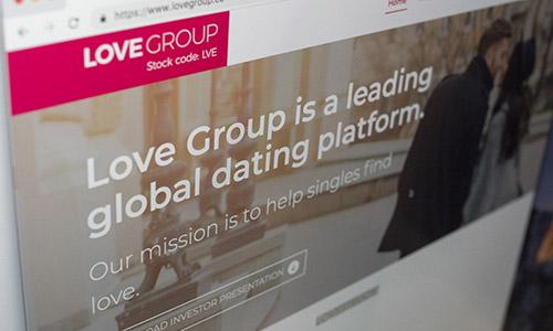 Giao diệncủa Love Group Hong Kong. Ảnh: SCMP.