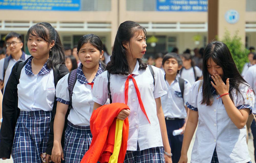 Hơn 40.000 thí sinh lớp 10 TP HCM dưới điểm trung bình môn Toán -