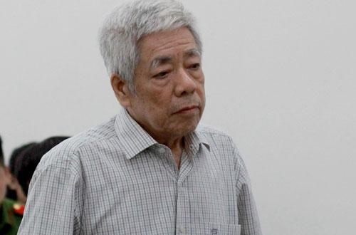 Cựu chủ tịch Vinashin Trương Văn Tuyến khi nói lời sau cùng.