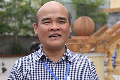 Ông Nguyễn Huy Quang xin phát biểu thêm tại toà song bị từ chối. Ảnh: Phạm Dự.