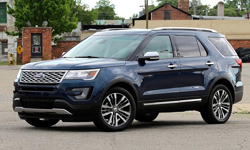 Ford triệu hồi hơn 1,2 triệu xe Explorer vì lỗi hệ thống treo