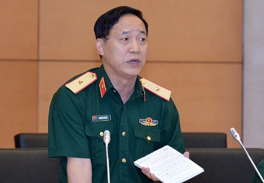 Ông Nguyễn Mai Bộ - Thường trực Uỷ ban Quốc phòng An ninh. Ảnh: Trung tâm báo chí Quốc hội.