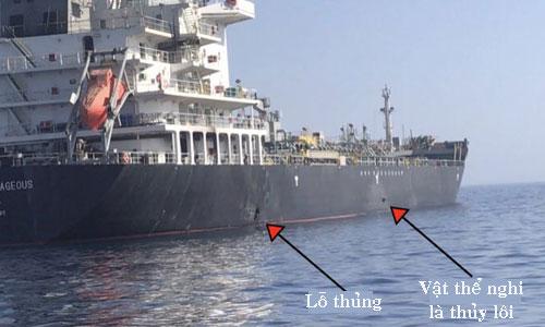 Thủy thủ nhìn thấy vật thể bay khi tàu dầu Nhật bị tấn công - ảnh 3