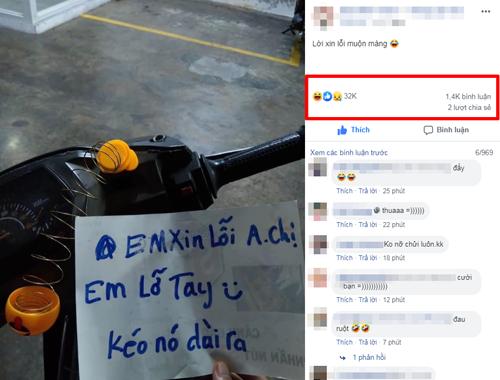 Chia sẻ nhận được hàng chục nghìn lượt thích kèm bình luận hài hước.