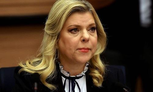 Bà Sara Netanyahu, vợ Thủ tướng Benjamin Netanyahu. Ảnh: Reuters.